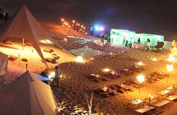 Desert camp in Morocco
