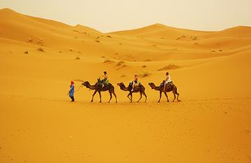 The Sahara of Morocco