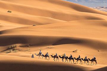 Marrakech to Erg Chigaga desert tour