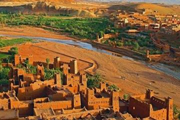 Sahara desert of morocco