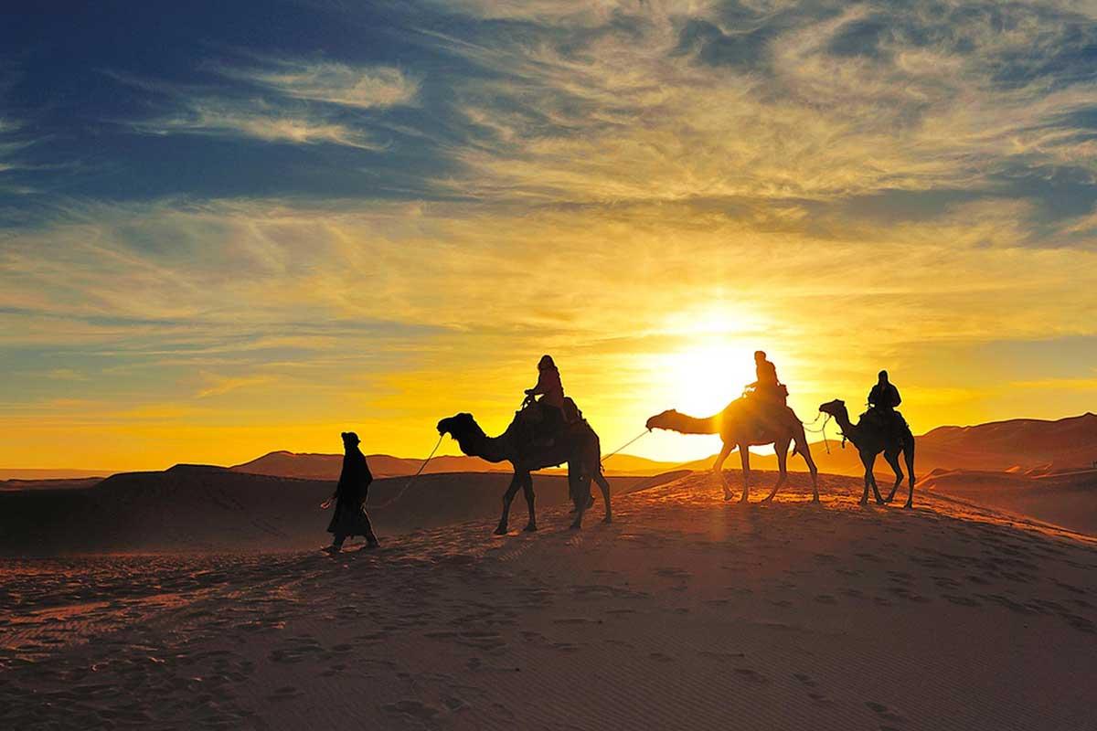 Marrakech to zagoura desert tours